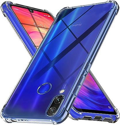 Ferilinso Funda para Xiaomi Redmi Note 7 /Xiaomi Redmi Note 7 Pro, Ultra [Slim Thin] Resistente a los arañazos TPU Caucho Piel Suave Silicona Funda Protectora (Transparente)