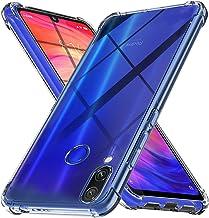 Ferilinso Funda para Xiaomi Redmi Note 7/ Note 7S/ Note 7 Pro, Ultra [Slim Thin] Resistente a los arañazos TPU Caucho Piel Suave Silicona Funda Protectora (Transparente)