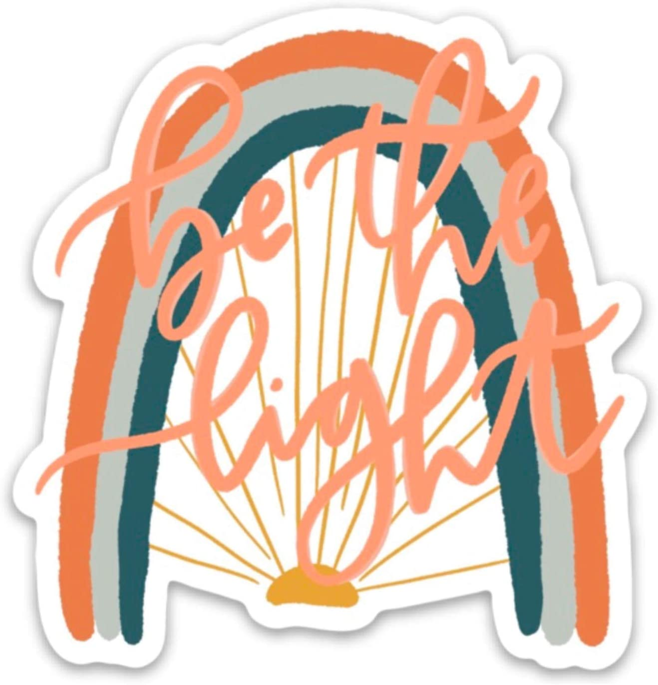 be a Light for All to See Stickers Limited time for free shipping Your Sticker Bott Direct stock discount - Water