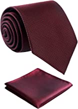 Fortunatever Mens Solid Color Tie,Handmade Neckties With Multiple Colors+Gift Box
