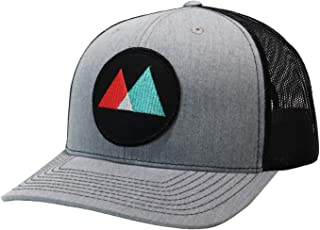 WUE Little Mountains Truckers Hat Outdoor Snapback Hats for Men
