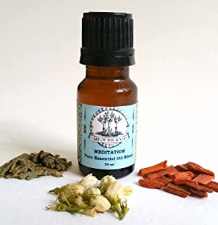 Meditation Pure Essential Oil Aromatherapy Blend for Meditation, Knowledge, Perception and Intuitive Abilities