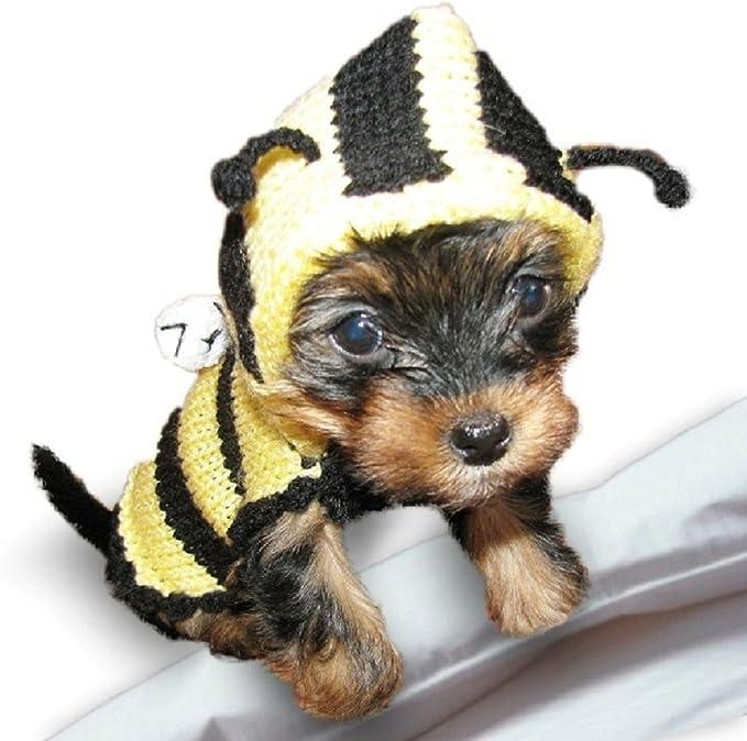 XXXS Chihuahua Clothes Clothing Teacup Puppy Dog Coat Dog Jumper Black Knit Small Puppy Dog Coat UK Seller XXS XS Small Tiny Breeds XXXS, Black
