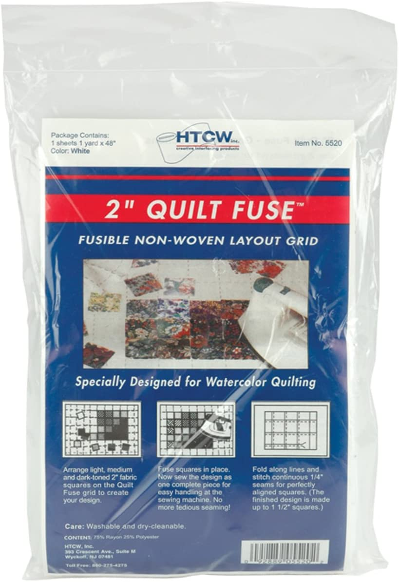 Quilt Fuse Fusible 1 year warranty Nonwoven Layout Grid Ranking TOP12