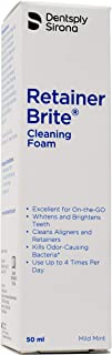 Retainer Brite Cleaning Foam - Cleans Invisalign and Retainers While Whitens Your Teeth