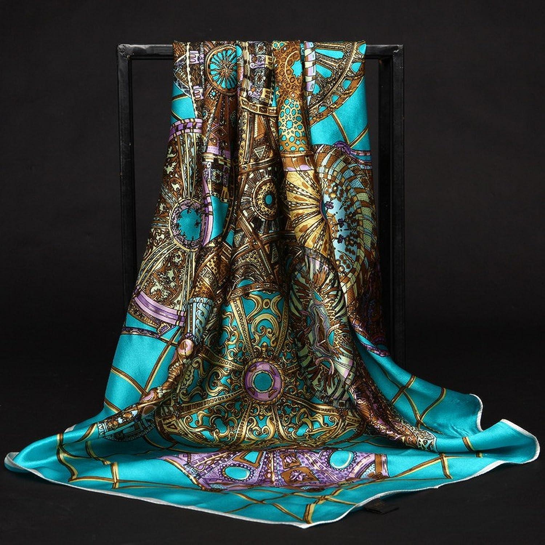 DHG Silk Scarves Female Silk Silk Scarf Printing Gift