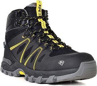 أحذية XPETI للرجال Wildfire المشي لمسافات طويلة منتصف خفيفة الوزن في الهواء الطلق المشي لمسافات طويلة