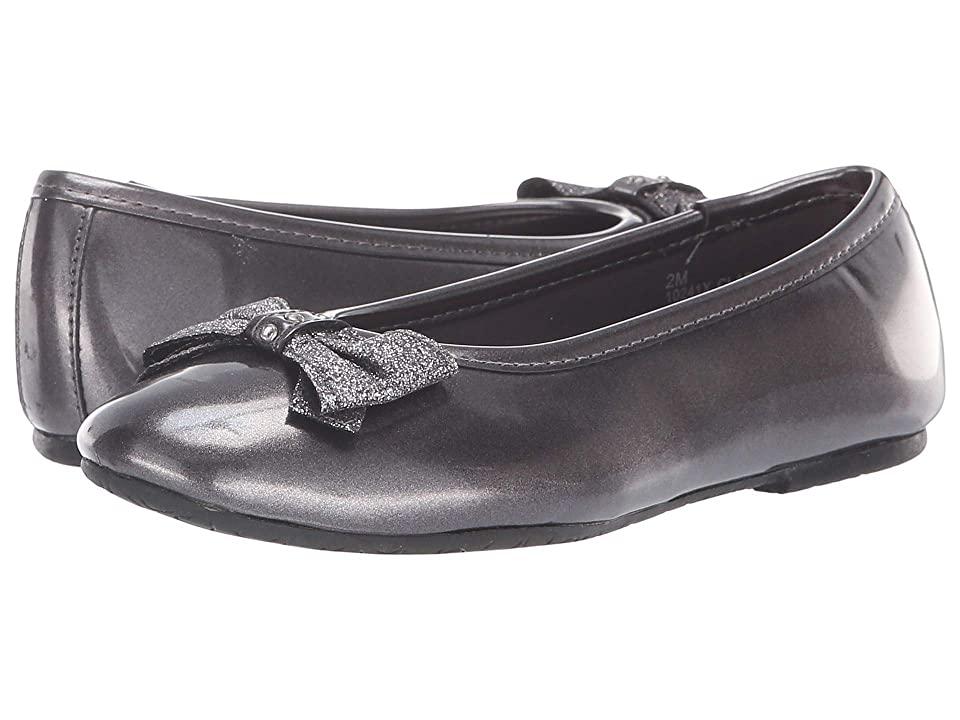 Rachel Kids Clara (Little Kid/Big Kid) (Pewter Metallic) Girl