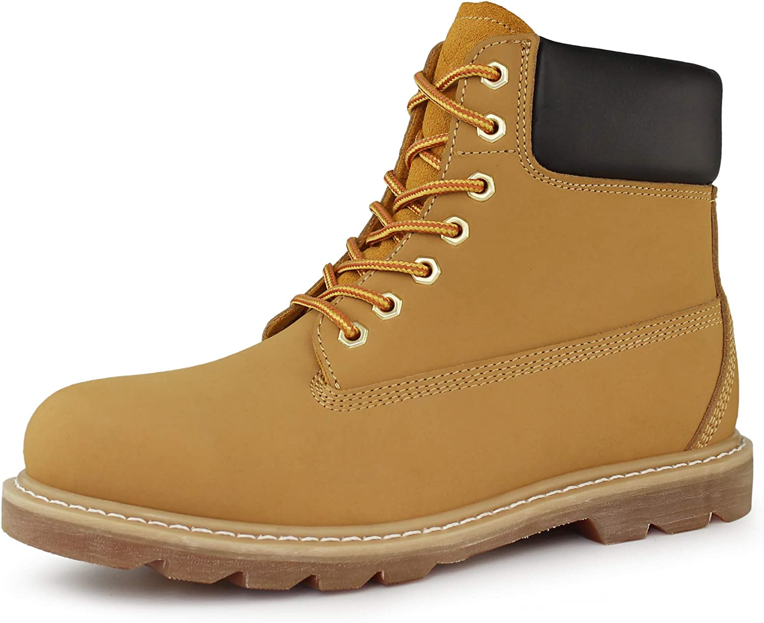 Hawkwell Men's Don't miss Max 41% OFF the campaign Steel Toe Safety Leather Waterproof Work Boot