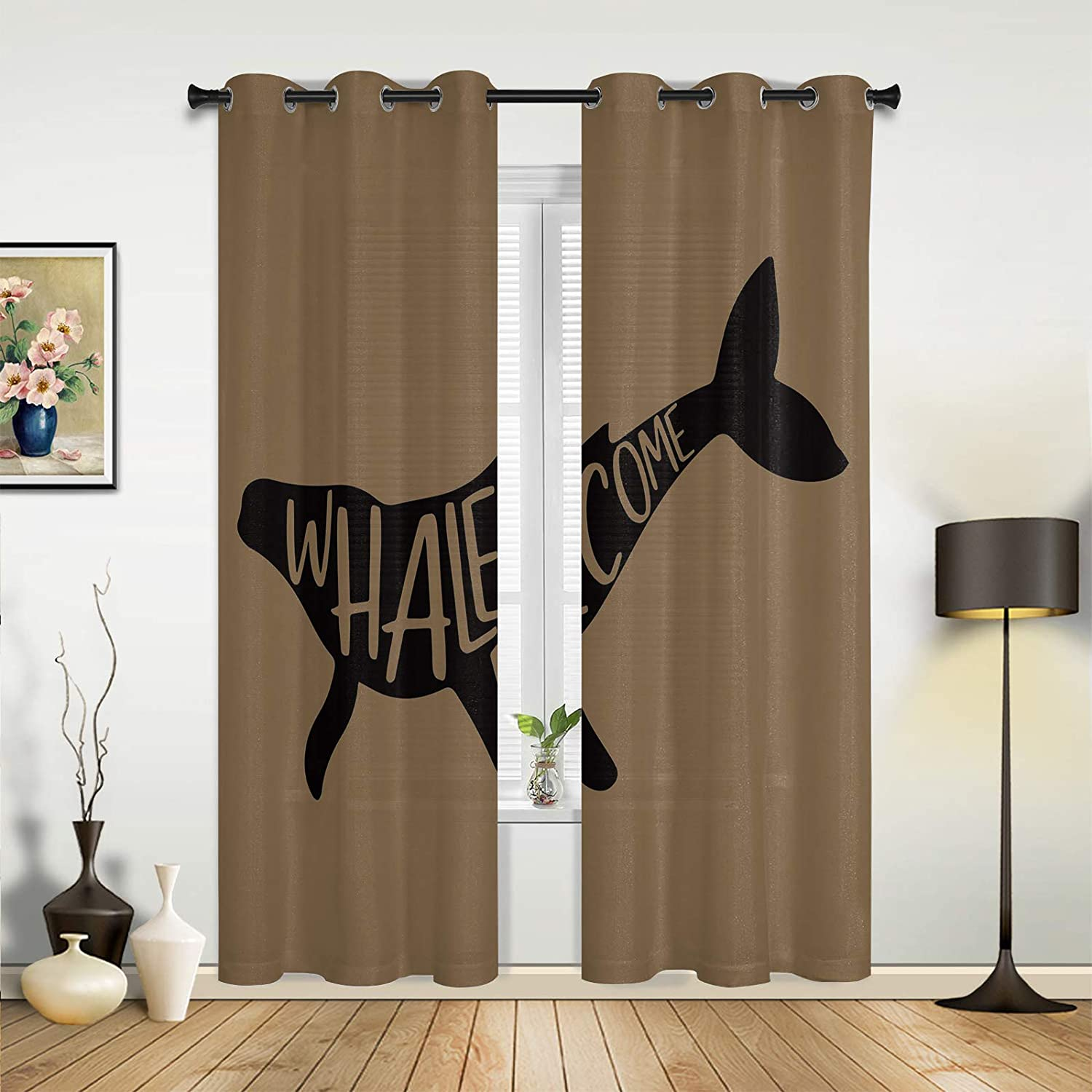 Window Sheer Curtains for Bedroom Living Bargain sale safety Room Minimali Whalecome