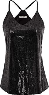 Camiseta de Tirantes para Mujer de Lentajuelas con Encaje para Fiesta