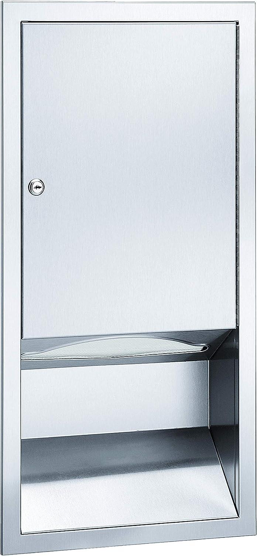 Bradley 244-0000 RECESSED Medium Capacity Dispenser Paper Popular popular Towel Manufacturer regenerated product