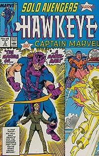 Solo Avengers #2: con Hawkeye y Capitán Marvel (enero de 1988)