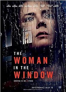 Kvinnan i fönstret Filmaffisch Klassisk affisch Bilder Present ModeWall Art-60x80cm Ingen ram