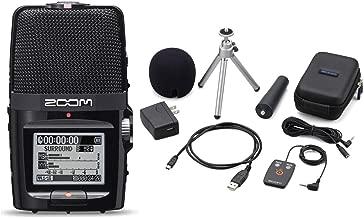 Zoom H2n Handy Handheld Digital Multitrack Recorder Bundle with APH-2n Accessory Pack