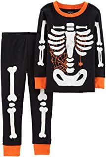 Carter's Baby Boy Girl Halloween Glow-in-The-Dark Costume Pajamas PJs