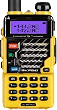 Best BaoFeng UV-5R+ Plus Qualette 5W Dual Band Two Way Radio Walkie Talkies (Imperial Yellow) Review