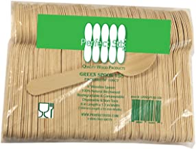 "Perfect Stix Wooden Disposable Spoons 6"" Length (pack of 100)"