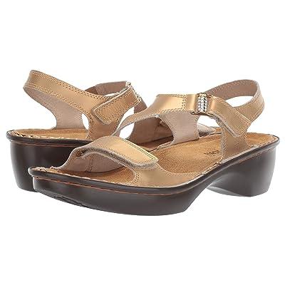 Naot Faso (Gold Leather) Women