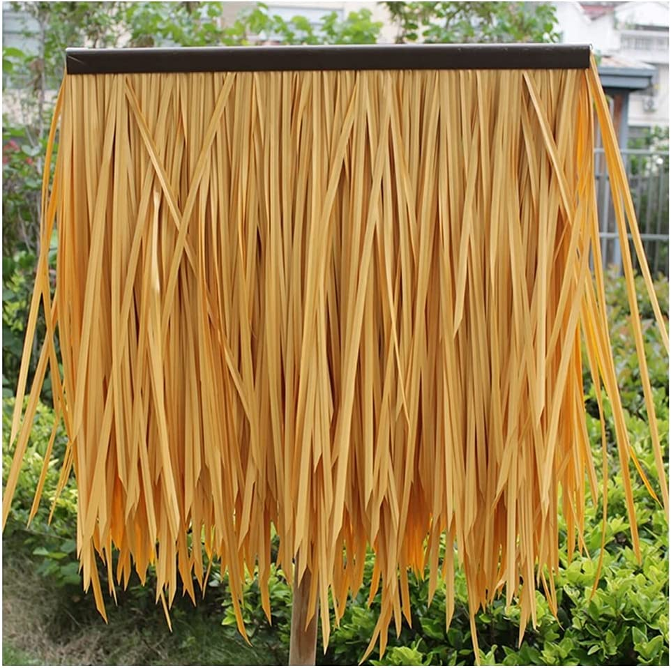 Thatch Tile Plastic PE Straw Cash special price Fake Man-Made Washington Mall for Roof Grass