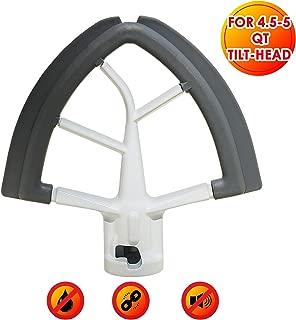 Head Stand Mixers White - Kitchenaid Mixer Attachments for 4.5-5 Quart KitchenAid Tilt - Flex Edge Beater with Scraper