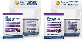 L-arginine Pro Supplement ON-The-GO Single Serve Travel Packets - 5,500mg of L-arginine Plus 1,100mg L-Citrulline