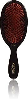 Mason Pearson Extra Large Pure Bristle Brush - B1 Dark Ruby by Mason Pearson for Unisex - 2 Pc Hair Brush and Cleaning Brush, 2 count