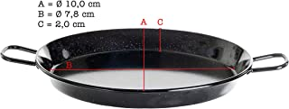 España sartén, acero esmaltada, 10 cm de diámetro, el original de España de Paella World