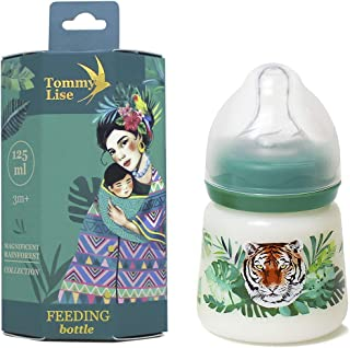 Tommy Lise Wide Neck baby Feeding bottle sutable for 3-6 months - Wild And Free(125 ml)