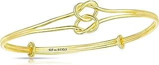 Best silver nautical knot bracelet Reviews