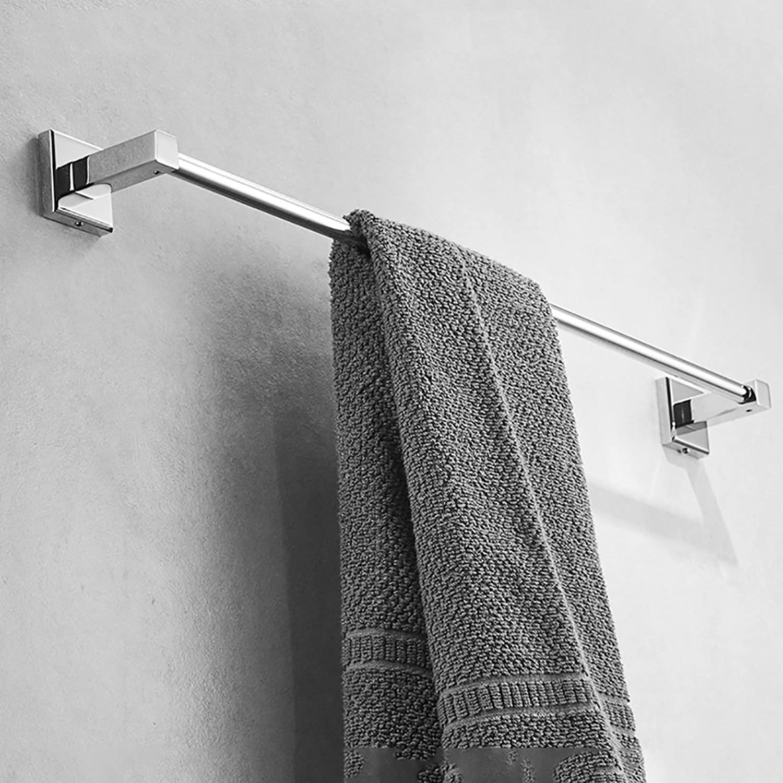 SHJICH-bathroom Bad Handtuchhalter Kupfer Dicke Handtuchstange Einpolig Bad Regal Lange Handtuch Hngen Rod (gre   100cm)