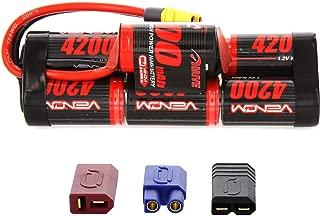Venom 8.4V 4200mAh 7-Cell Hump Pack NiMH Battery with Universal Plug 2.0 (Traxxas / Deans / EC3)