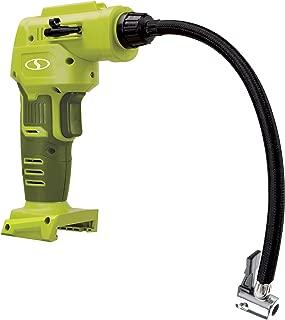 Sun Joe 24V-AJC-CT Digital Cordless Air Compressor w/Nozzle Adapters + Storage Bag, Tool Only