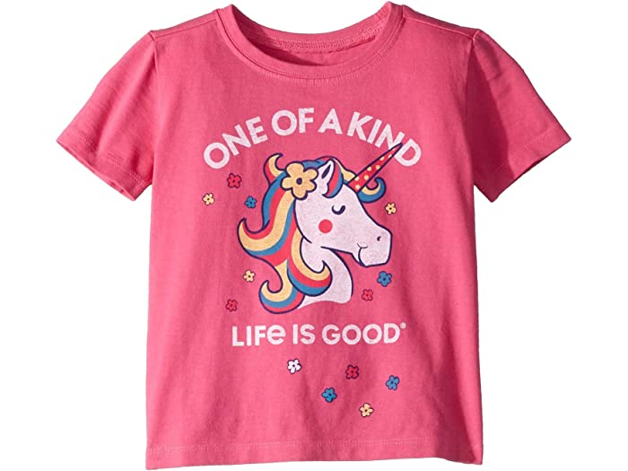 Life is Good Unisex-Child Toddler Crusher Tee