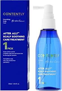AFTER ALL! Scalp Soothing Care Treatment - For All Hair types | Cooling scalp and hair tonic | 4.06 fl.oz.