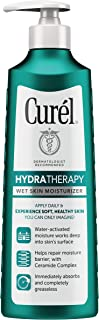 Curel Skincare Hydra Therapy Wet Skin Moisturizer for Dry & Extra-Dry Skin, 12 Fl Oz (Pack of 1)