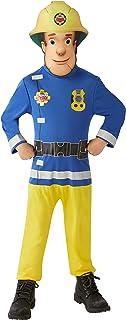 Fireman Sam Age 2-3 Boys Cartoon Fancy Dress Childs Firefighter Uniform Costume