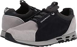 Suede/Cord Sneaker
