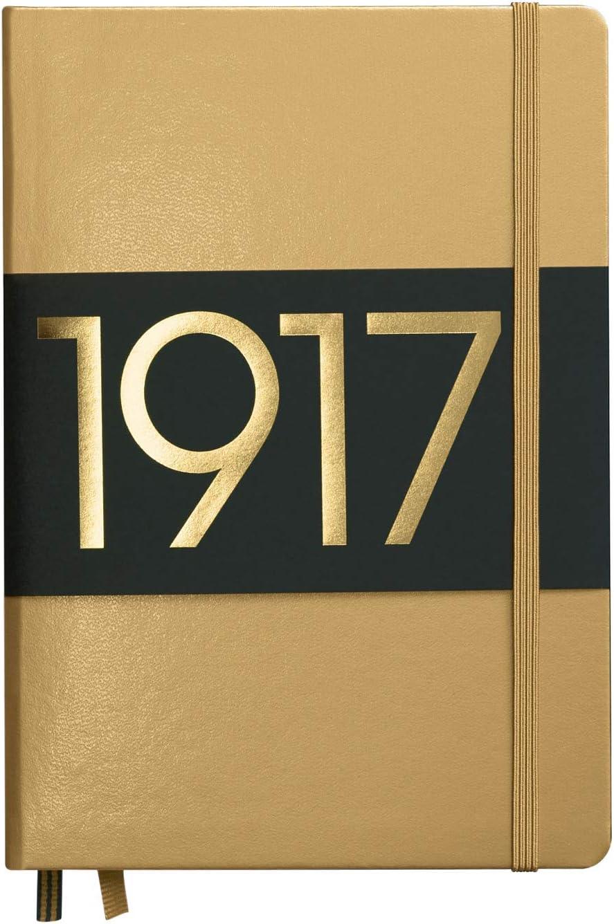 LEUCHTTURM1917 Overseas parallel import regular item Metallic Special Import Edition - A5 Hardc Medium Dotted