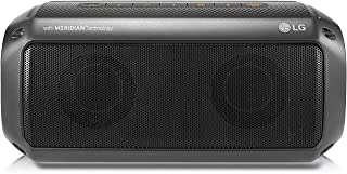 LG PK3 Portable Bluetooth Speaker with Meridian Technology - 2018