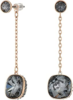 Swarovski Lattitude Chain Pierced Earrings