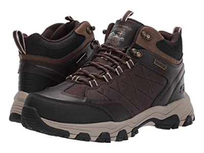 SKECHERS Relaxed Fit Selmen Telago (Chocolate) Men