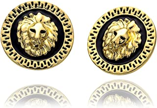 Men Fashion Lion Leo Stud Earring Perfect Birthday Gift For Husband