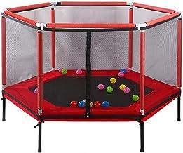 HMBB Home Kinderen Indoor Bouncing Bed met Beschermhoes Volwassen Fitness Trainingsapparatuur Bouncing Bed 6 Corner Indoor...