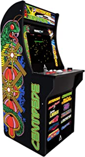 Arcade1Up Deluxe Edition 12-in-1 Arcade Cabinet with Riser, 5 feet