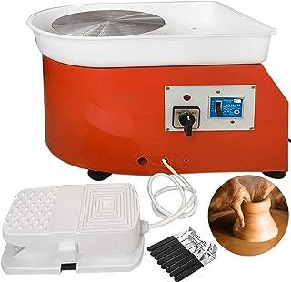 Chrisun 280W Électrique Poterie Roue en Céramique Machine 25CM Keramik Radmaschine 220V Roue en Céramique Machine Radmasch...