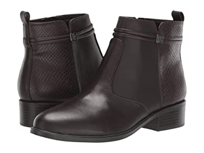 Bandolino Danny (Dark Brown Leather) Women