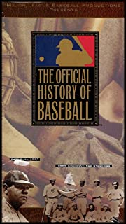 Major League Baseball Productions Presents: The Official History of Baseball [2 VHS Videos]