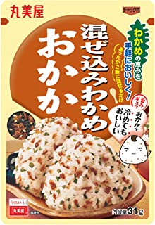Marumiya Mazekomi Seaweed Dried Bonito Rice Seasoning, 31 g