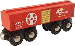 Choo Choo Track & Toy Co. Santa Fe Red Boxcar Magnetic Wooden Train